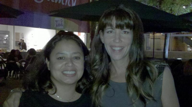 Gina M. Garcia with Mentor Patty Jenkins (Director of Monster and The Killing)